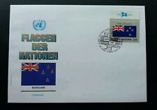 United Nation Flag New Zealand 1986 (stamp FDC)