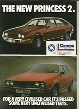 AUSTIN MORRIS PRINCESS 2 CAR SALES BROCHURE OCTOBER 1978 FOR 1979 MODEL YEAR