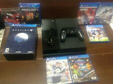 Sony PS4 500GB Black Console pick a Bundle