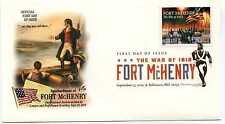 4921 War of 1812: Fort McHenry ArtCraft DCP cancel, FDC