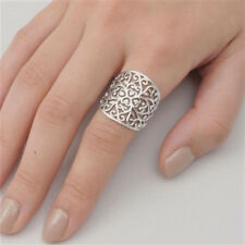 USA Seller Filigree Band Ring Sterling Silver 925 Best Deal Jewelry Size 9