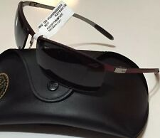 NWT RAY BAN Men's RB 8305 142/T3 Red CARBON FIBER POLARIZED SUNGLASSES 64/14