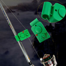 Electronic Night Fish Bite Fishing Alarm Alert Sound Bell Clip on Rod LED Light
