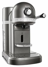 KitchenAid Nespresso R-KES0503MS Instnt Espresso Coffee Machine Medallion Silver