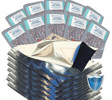 (100) Quart PREMIUM Mylar® Bags + (100) 300cc Oxygen Absorbers + FREE LTFS Guide