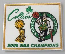 "Boston Celtics 2008 NBA Champions Embroidered Patch - 3.05"" x 2.75"""