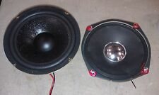 """9X49 SPEAKERS, 6"""" NOMINAL, 2#14 NET, TEST OK, VERY GOOD CONDITION"""