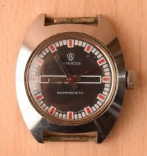 Vintage Collectible Military German Men's Wrist Watch Services Antimagnetic GDR