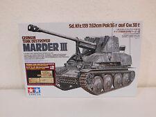 Tamiya 248, Marder III German PAK36 Tank Panzer,1:35