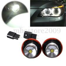 2x 10W 720LM LED Blanc Angel Eye Halo Ampoule PharePr BMW E39 E60 E63 E64 E53 X5