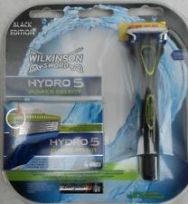 WILKINSON SWORD HYDRO 5 POWER SELECT RAZOR WITH 5 BLADES + BATTERY BLACK EDITION
