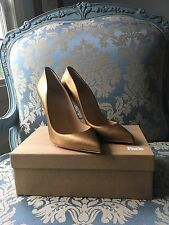 100% Authentic GOLD Christian Louboutin 'Pigalle Follies' SIZE 39
