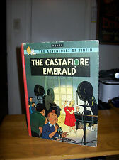 Herge`s Adventures of Tintin. The Castafiore Emerald. Signed 1st UK Ed. Rare