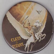 "VINTAGE 3"" PINBACK #28-007 - MOVIE - CLASH OF THE TITANS"
