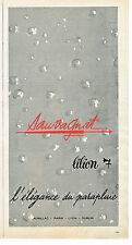 PUBLICITE ADVERTISING 014   1963   SAUVAGNAT    LILION  parapluie