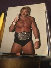Magnum TA Terry Allen Color NWA 8X10 Photo