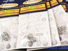 7 buste pasterello Stonfo mis 2 pesca trota lago, pasterello, carpodromo, mare