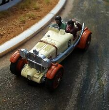 Probuild GTM 1/32 slot car MG K3 toffee/cream MAN & LADY #8 1930s cyc/wings MB