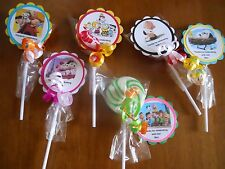 24 Peanuts Movie Snoopy 1st 2nd 3rd 4th 5th Birthday Whirly Hard Lollipop Favors