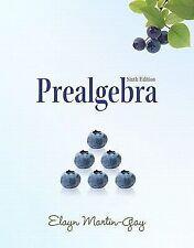 Prealgebra by Elayn Martin-Gay (Paperback, Edition)