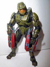 Halo 3 Series 8 **Master Chief** McFarlane Figure 100% Complete w/ Both Weapons