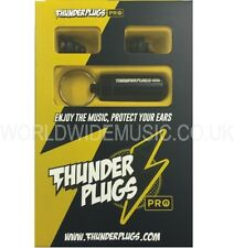 Thunderplugs Pro TPRO1 Musician Earplugs Free Carry Case! Tested & Certified