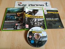 XBOX 360 OPERATION FLASHPOINT DRAGON RISING PAL ESPAÑA COMPLETO