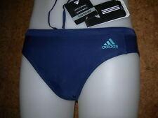 maillot  de bain junior/ slip de bain ADIDAS Infinitex(TM) basic TRUNK-BLEU - XS