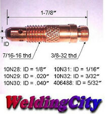 "WeldingCity 5-pk Collet Body 10N32 (3/32"") for TIG Welding Torch 17/18/26"