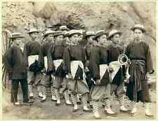 05 Fire Fighting Chinese Hose Team vintage Photo Print A4