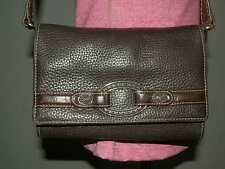 Brighton Brown Leather Shoulder Bag Wallet Purse Clutch Organizer