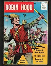 Robin Hood Tales #2 ~ 1956 Quality / Rescue of Maid Marian ~ (5.5) WH