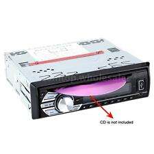 Black Car Stereo Radio Audio In-Dash FM Receiver Auto CD DVD MP3 Player USB SD