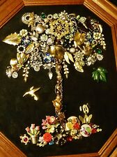 Tree of Life, Vintage & Modern Jewelry Art, Handcrafted & signed by Artist