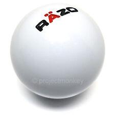 RAZO RA101 Shift Knob Shiftknob Gear Lever 46g White Resin Ball Carmate JDM