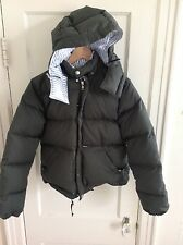 Maison Kitsune Quilted Down Puffer Coat Green sz XS SOLD OUT
