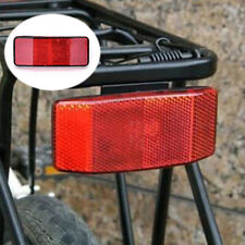 Bicycle Bike MTB Safety Caution Warning Reflector Disc Rear Pannier Racks ST