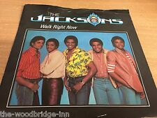 "THE JACKSONS WALK RIGHT NOW (EPC A 1294) 7"" VINYL SINGLE GGH"