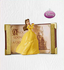 2010 Hallmark ONCE UPON A TIME Disney BELLE Ornament BEAUTY & BEAST *Priority Sh