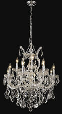 "Palace Maria Theresa 27"" 13 light Crystal Chandeliers light - Chrome"
