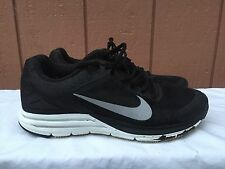 NIKE ZOOM STRUCTURE+ 17 H2O Black Running Trainers 616304 001 US 10.5 EUR 44.5