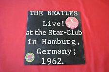 "The Beatles Live At The Star-Club 12"" LP Import Canada Original 1977 Vinyl Set"