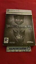 TRANSFORMERS LE JEU / CYBERTRON EDITION/  XBOX 360 COMPLET MICROSOFT PAL