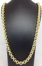 Brand new HEAVY Solid 9ct Gold Belcher Chain- 20inch 42g Uk Hallmark RRP £1890