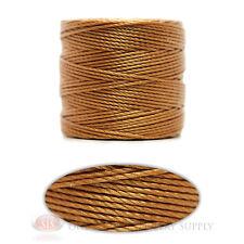 Copper 77 Yds. Super-Lon #18 Beading Crafting Stringing Crochet Cord