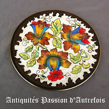 B20130478 - Grand plat de 32,5 cm en céramique H.Bequet - Quaregnon Belgique