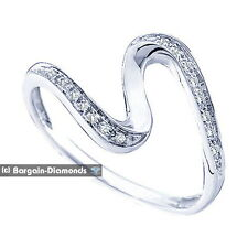diamond .05 carats life journey 10K white gold ring promise anniversary birthday