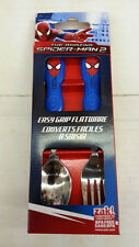 ZAK SUPERHERO AMAZING SPIDER MAN 2 PIECES SPOON FORK SET 100% ORIGINAL LICENSED