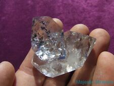 HIGH QUALITY___LARGE WATER CLEAR Herkimer Diamond Quartz Crystal Cluster