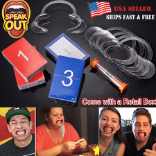 HOT 2016 New Funny Speak Out Board Game Mouthguard Challenge Game Christmas Gift